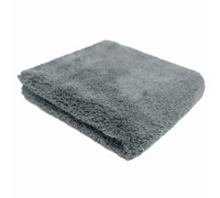 Plush both side buffing towel (40x40см) Плюшевое двустороннее м/ф полотенце, серое, PURESTAR