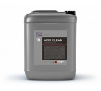 ACID CLEAN - очиститель неорганических загрязнений на минеральных кислотах - соляной и фосфорной, 5л