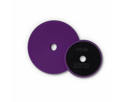 EccentricHeavy Cut Q²M (145 mm x 20mm) твердый полировальный круг для эксцентриковых машинок GYEON