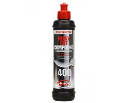 Menzerna 400 Heavy Cut Compound - Универсальная высокоабразивная полировальная паста,  250мл
