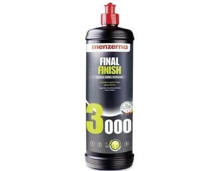 Menzerna FF3000 - Низкоабразивная доводочная полировальная паста, 1л