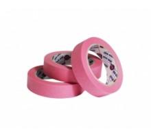Лента маскирующая розовая Eurocel 25мм х 40 м 80 Со - 30 мин