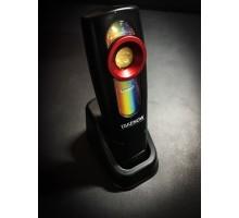 Инспекционный фонарь COB 625 Lm +SMD 250Lm +УФ, 2500mAh, IP65 Unilite
