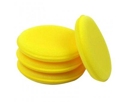 Аппликатор желтый поролоноый круглый 10*2 см