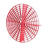 Сепаратор грязевой для ведра 266*65мм, красный