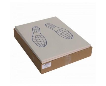 Коврики бумажные двухслойные, 500шт/упак