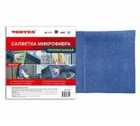 Пропитанная салфетка микрофибра 40*40 Vortex