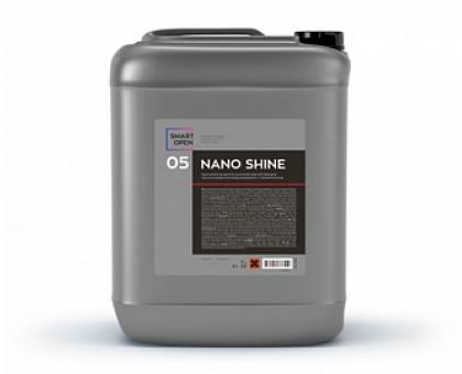 NANO SHINE - нано-консервант для кузова автомобиля с глубоким блеском, 5л