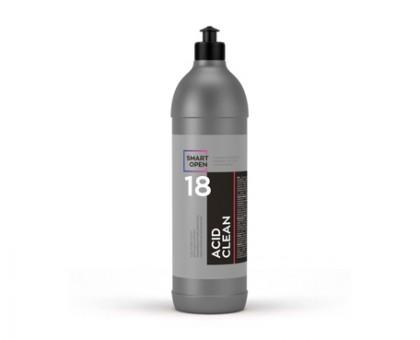ACID CLEAN  -очиститель неорганических загрязнений на минеральных кислотах - соляной и фосфорной, 1л