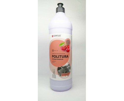POLITURA Вишня - Матовая полироль-очиститель для пластиковых,виниловых и кожаных изделий, 1л