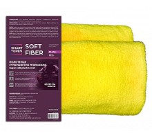 Soft Fiber Plush SmartOpen - Полотенце супер мягкое плюшевое 580г/м2 60х80 см