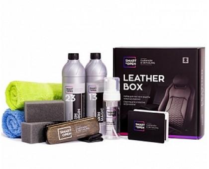Smart Leather Box - Набор для чистки и защиты кожаных изделий
