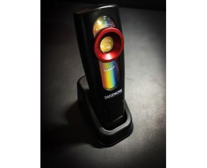 Инспекционный фонарь с подзарядной станцией Rechargable Inspection Lamp TAKENOW