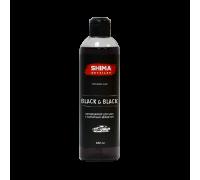 BLACK & BLACK - Кондиционер для шин с бархатным эффектом, 0,5л