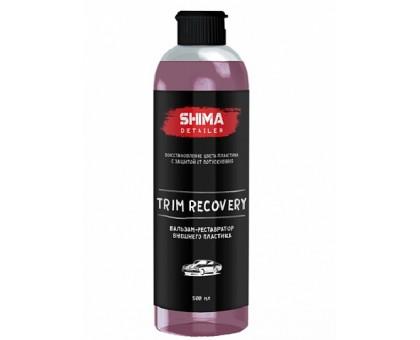 TRIM RECOVERY - Бальзам-реставратор внешнего пластика, 0,5л