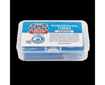 Неабразивная полировальная глина голубая Leraton CL1 100г