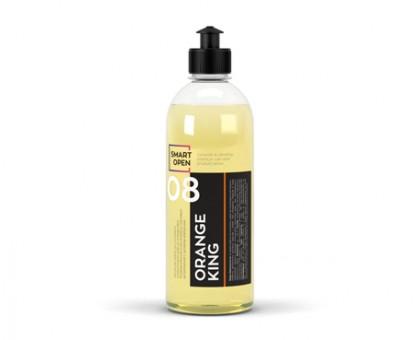 ORANGE KING - универсальный очиститель устойчивых загрязнений с запахом апельсина, 0,5л