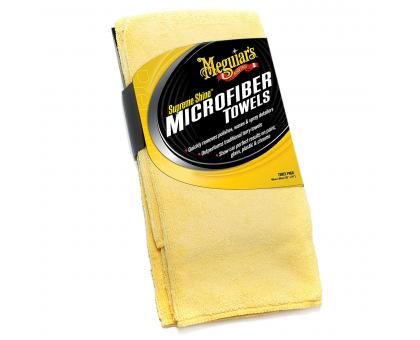 Микрофибровая салфетка Supreme Shine Microfiber Towel 40x60см, 3 шт./уп., 6 уп./кор.