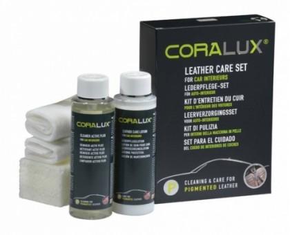 CORALUX® Leather Care Set P набор по уходу за автомобильной кожей P