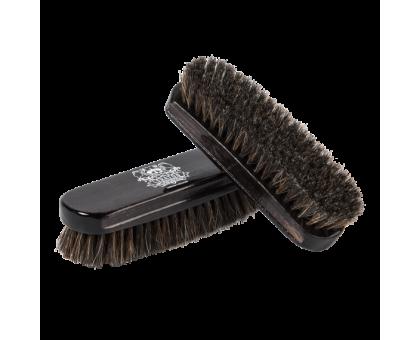 Щетка для чистки кожи LERATON из натуральной щетины BR3