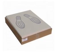 Коврики под ноги бумажные (следы ног), 500шт/упак