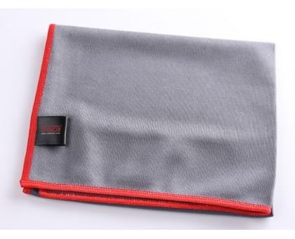 Glass Microfiber Towel - микрофибра для протирки стекол 40*40см 300 г/м2 серая
