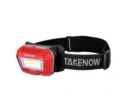 Налобный сенсорный фонарь с 3 видами цветовых температур Rechargeable Headlight TAKENOW HL002